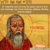 st valentine wtf fun facts