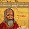 st valentine wtf fun facts