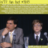 steve jobs and bill gates wtf fun facts