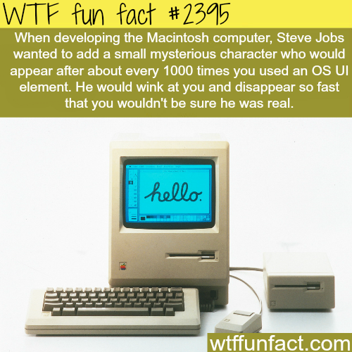Steve jobs and the development of Macintosh - WTF fun facts