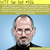 steve jobs facts wtf fun facts