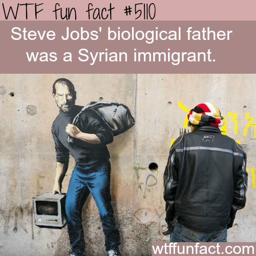 Steve Job's father was Syrian - WTF fun facts