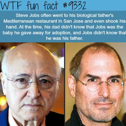 Steve Jobs - WTF fun facts