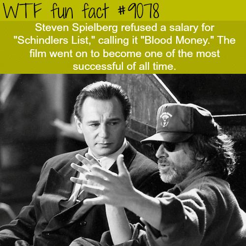 Steven Spielberg - WTF fun facts