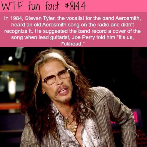 Steven Tyler - WTF fun fact