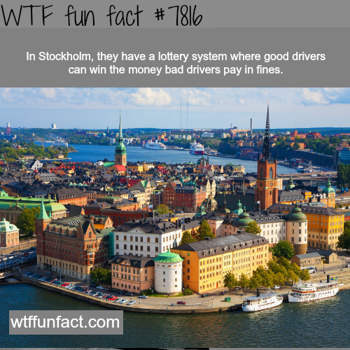 Stockholm's lottery - WTF fun facts