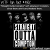 straight outta compton facts wtf fun facts