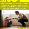 strict parents wtf fun facts