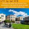 study in norway wtf fun facts