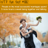 successful marriages wtf fun facts