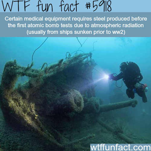 Sunken ships - WTF fun facts