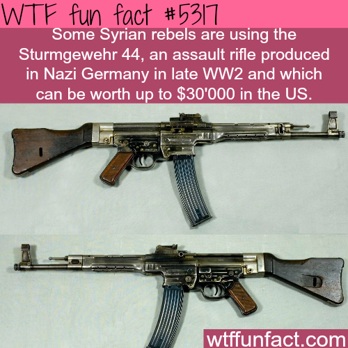 Syrian rebels are using NAZI weapons - WTF fun facts