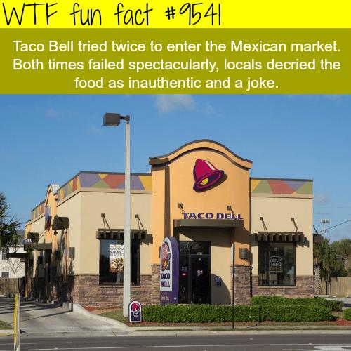 Taco Bell - WTF fun fact