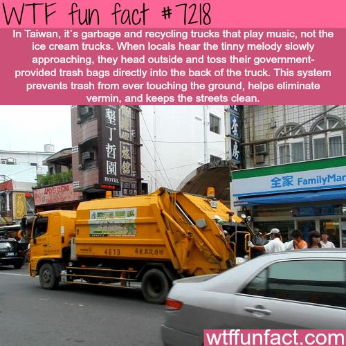 Taiwan's garbage trucks - WTF Fun Fact