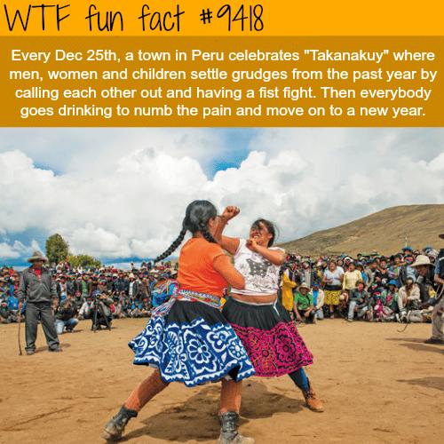 Takanakuy - WTF fun fact