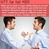 talking to yourself wtf fun fact