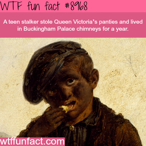 Teen stalker stole Queen Victoria's panties - WTF fun fact