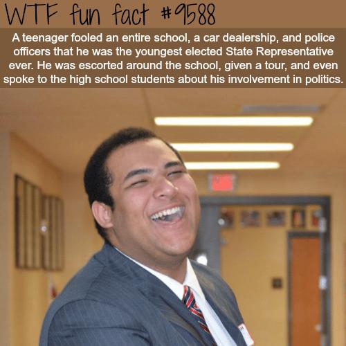 Teenager fooled entire school - WTF fun fact