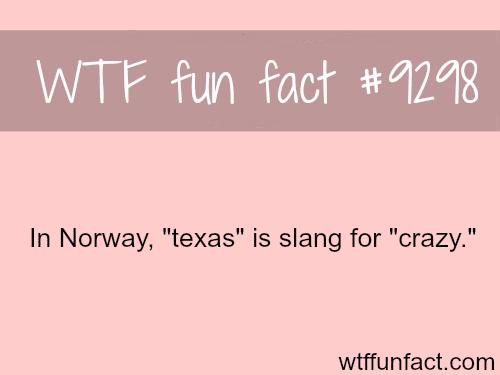 Texas - WTF fun fact