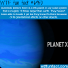 the 9th planet wtf fun fact