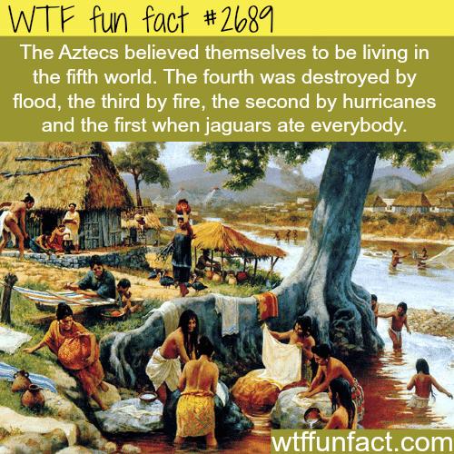 The Aztec civilizations facts -WTF funfacts