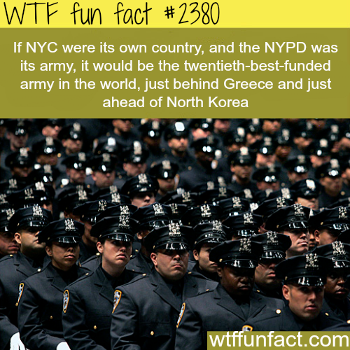 The best and most funded armies? -WTF funfacts