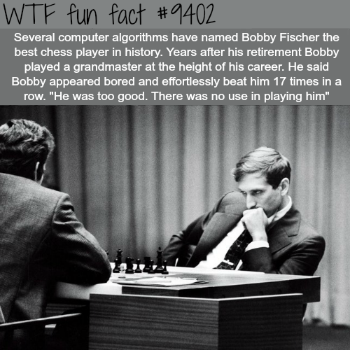 The Best Chess Player of All Times - WTF fun facts