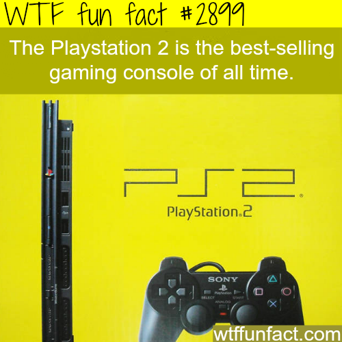 The best-selling gaming console-WTF fun facts