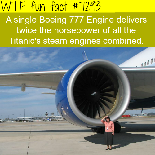 The Boeing 777 Engine - WTF fun fact