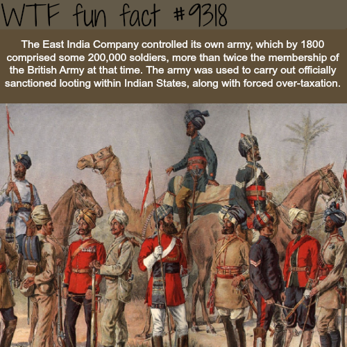 The British East India Company - WTF fun facts