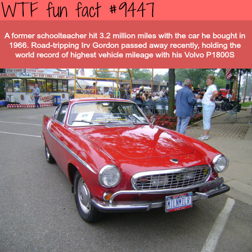 The car with the highest milage - WTF fun fact