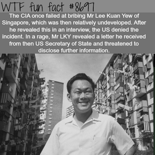 The CIA tried to bribe the leader of a third world country - WTF fun facts