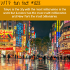 the city with most millionaires wtf fun facts