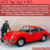 the designer of the porsche 911 wtf fun facts