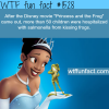 the disney movies facts princes and the frog