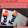 the fedex logo is one of the best logos in the