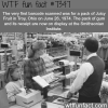 the first barcode scanned wtf fun facts