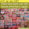 the flavors of kit kat in japan