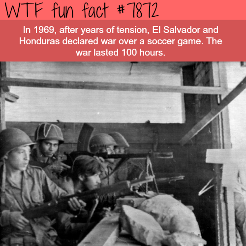 The Football War - WTF fun facts