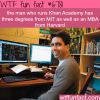 the founder of khan academy wtf fun fact