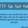 the government can read your email if they are 6