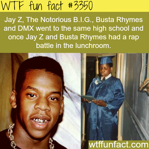 The high school with most rappers? - WTF fun facts