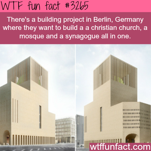 The house of one in Berlin -WTF fun facts