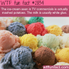 the ice cream seen in tv commercials wtf fun
