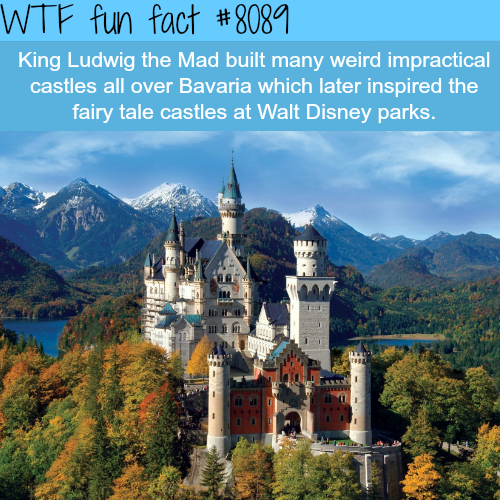The inspiration for Disney's castles - WTF fun facts