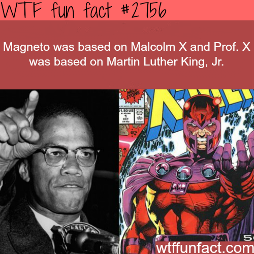 The Inspiration for Magneto and Prof. X -WTF fun facts