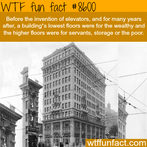 The invention of elevators - WTF fun facts