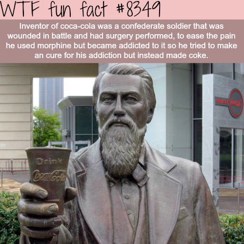 The inventor of coca-cola - WTF fun facts