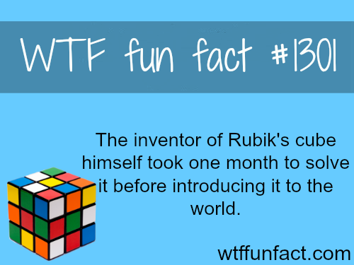 the inventor of rubiks cube