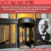 the inventor of the revolving door wtf fun